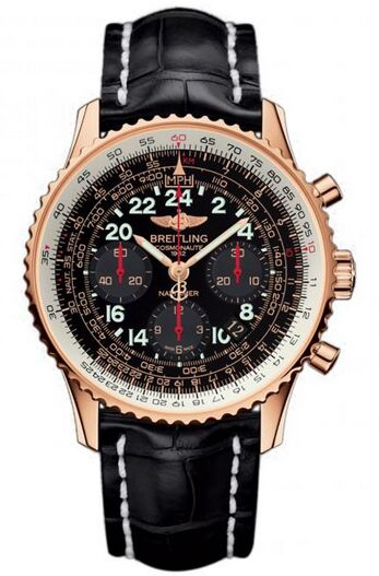Breitling Navitimer Cosmonaute Rose Gold Watch Replica