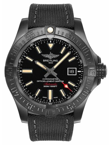 Breitling Avenger Blackbird Black Titanium - Volcano Black Watch Replica