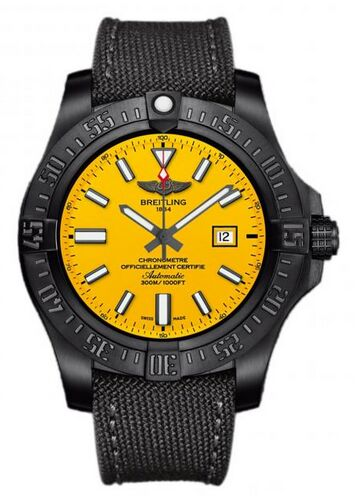 Breitling Avenger Blackbird Limited Edition Titanium Watch Replica