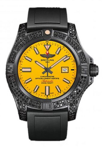 Breitling Avenger Blackbird 44 Titanium Watch Replica