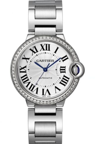 Cartier Ballon Bleu Automatic Ladies Diamond W4BB0017