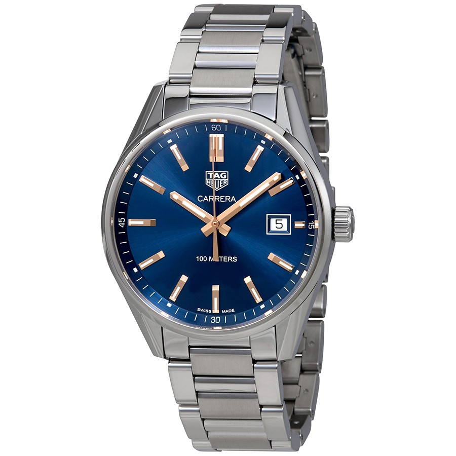 Tag Heuer Carrera Quartz 39 mm Blue Dial Ladies Watch Replica