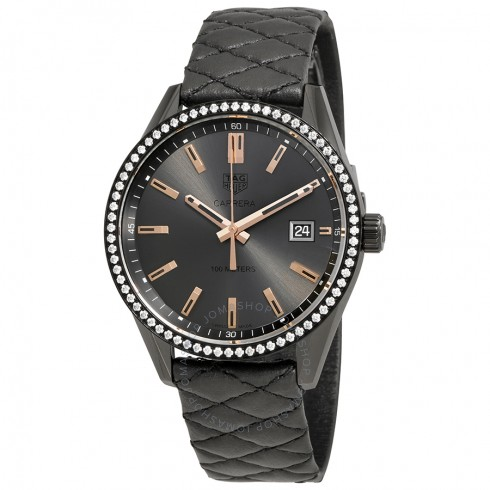 Tag Heuer Carrera Anthracite Dial Ladies Watch Replica