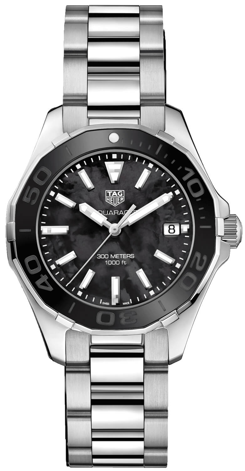 Tag Heuer Aquaracer Black Mother of Pearl Dial Ladies Watch Replica