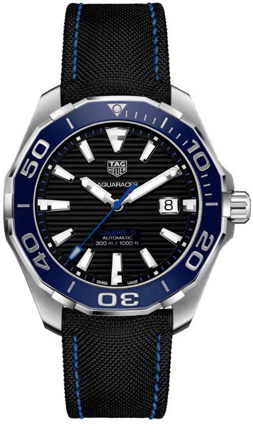 Tag Heuer Aquaracer Automatic Black Dial Mens Watch Replica