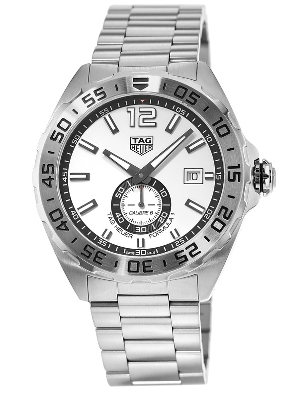 Tag Heuer Formula 1 Automatic White Dial Mens Watch Replica