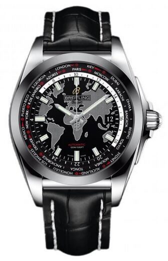 Breitling Galactic Unitime Stainless Steel Watch Replica