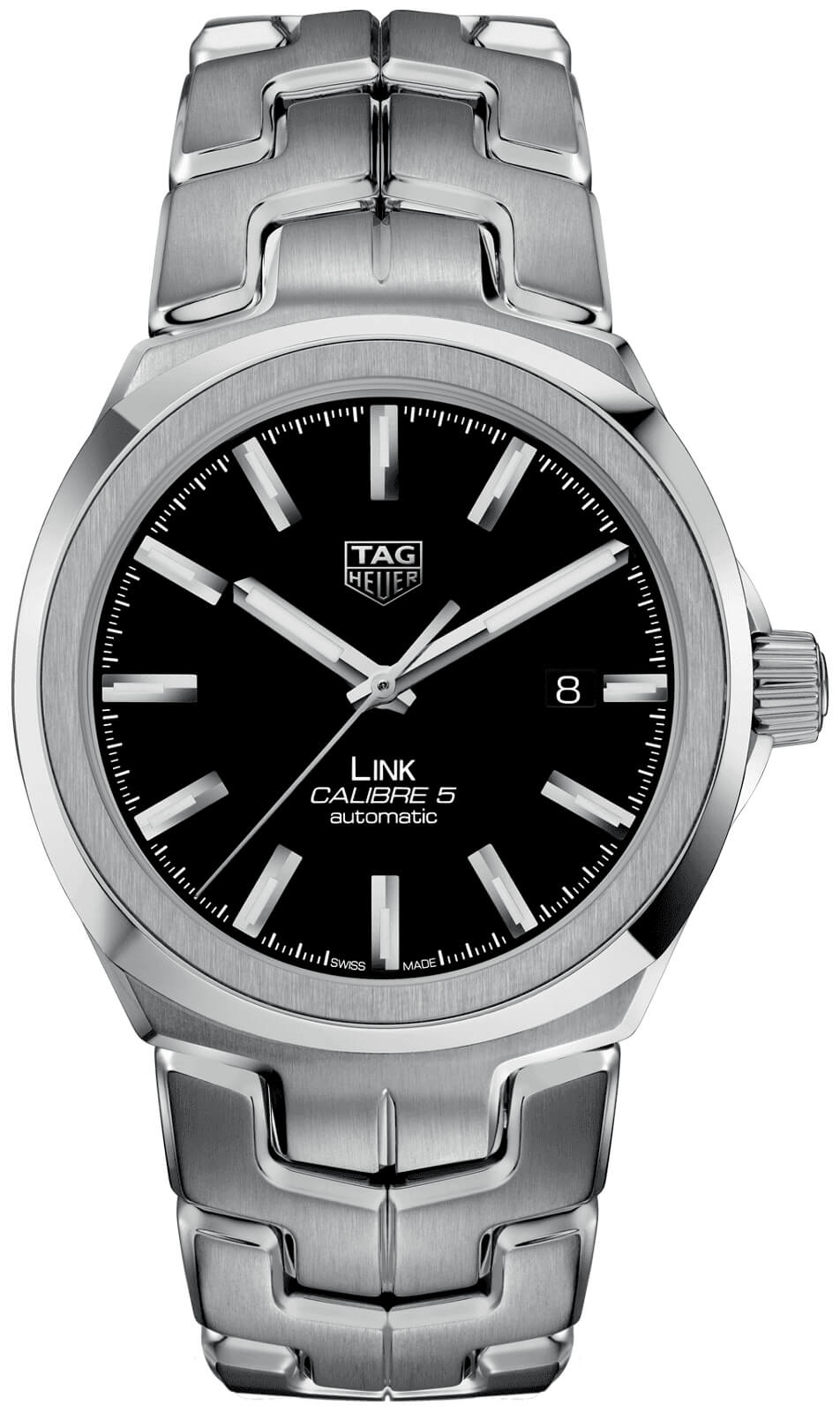 Tag Heuer Link Automatic Black Dial Mens Watch Replica