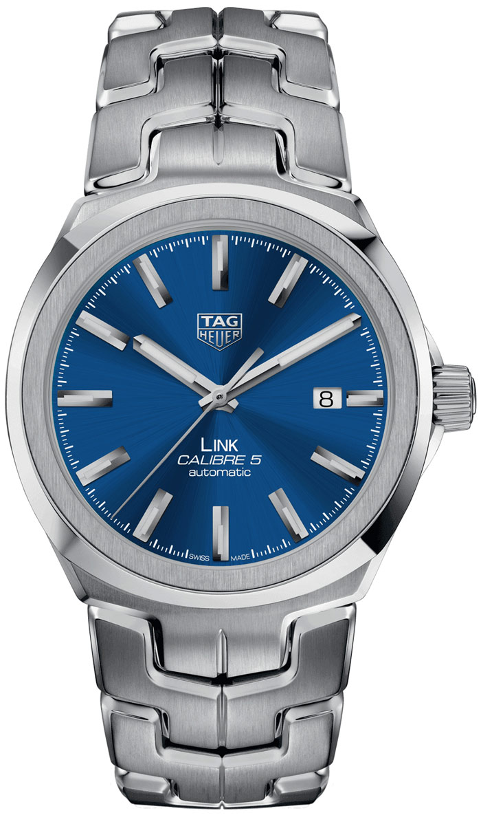 Tag Heuer Link Automatic Blue Dial Mens Watch Replica