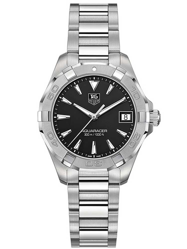 Tag Heuer Aquaracer Black Dial Ladies Watch Replica