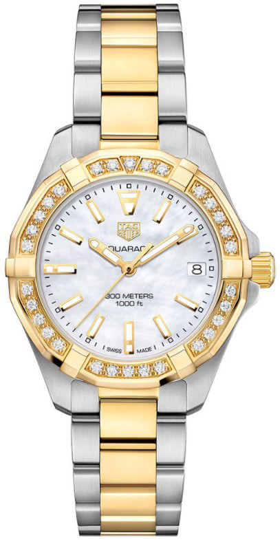 Tag Heuer Aquaracer Mother of Pearl Dial Ladies Watch Replica
