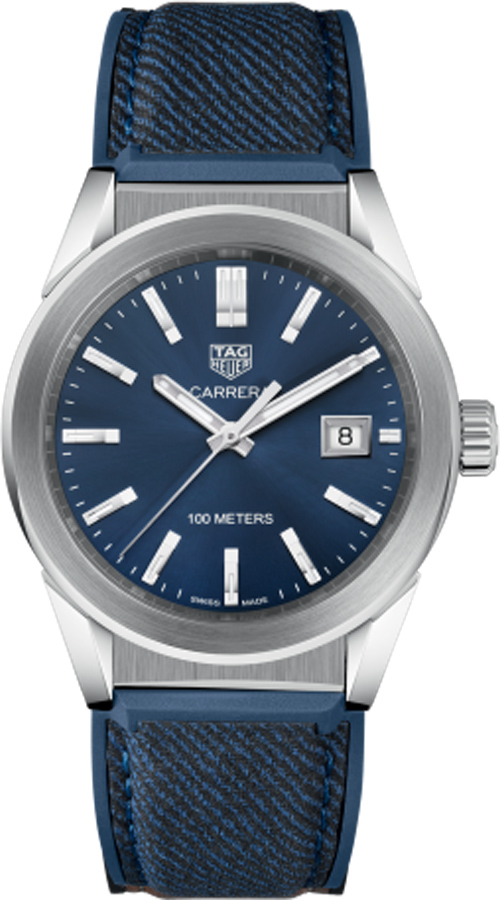 Tag Heuer Carrera Blue Dial Midsize Watch Replica