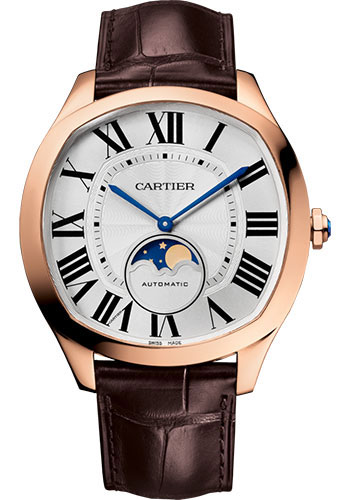 Cartier Drive de Cartier Moon Phases Men's WGNM0008