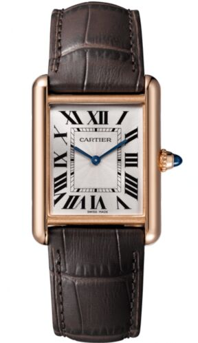 Cartier Tank Louis Silver Dial Ladies Hand Wound WGTA0011