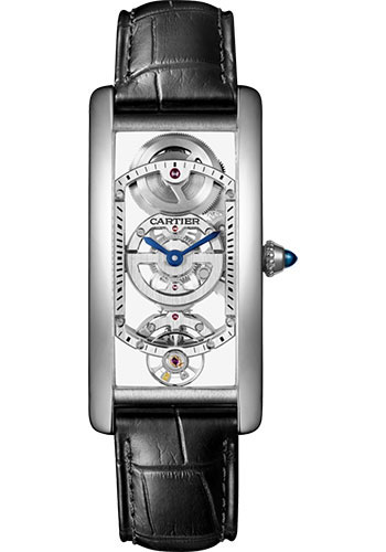 Cartier Tank Cintree Skeleton Limited Edition WHTA0009