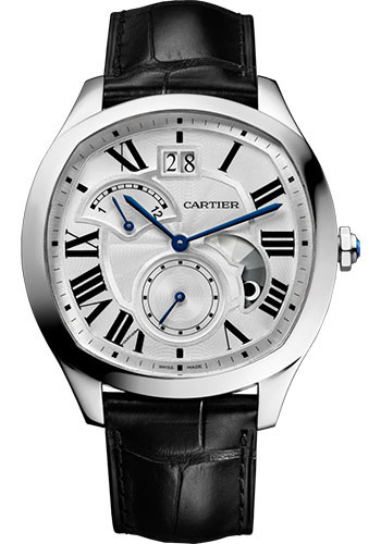 Cartier Drive de Cartier Large Date Retrograde Second Time Zone Men\'s WSNM0005