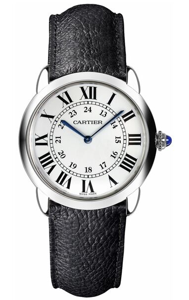 Cartier Ronde Solo Silvered Light Opaline Dial Ladies WSRN0019