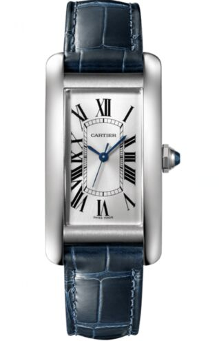 Cartier Tank Americaine Automtic Silver Dial Ladies WSTA0017