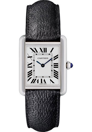 Cartier Tank Solo Silvered Light Opaline Dial Ladies WSTA0030