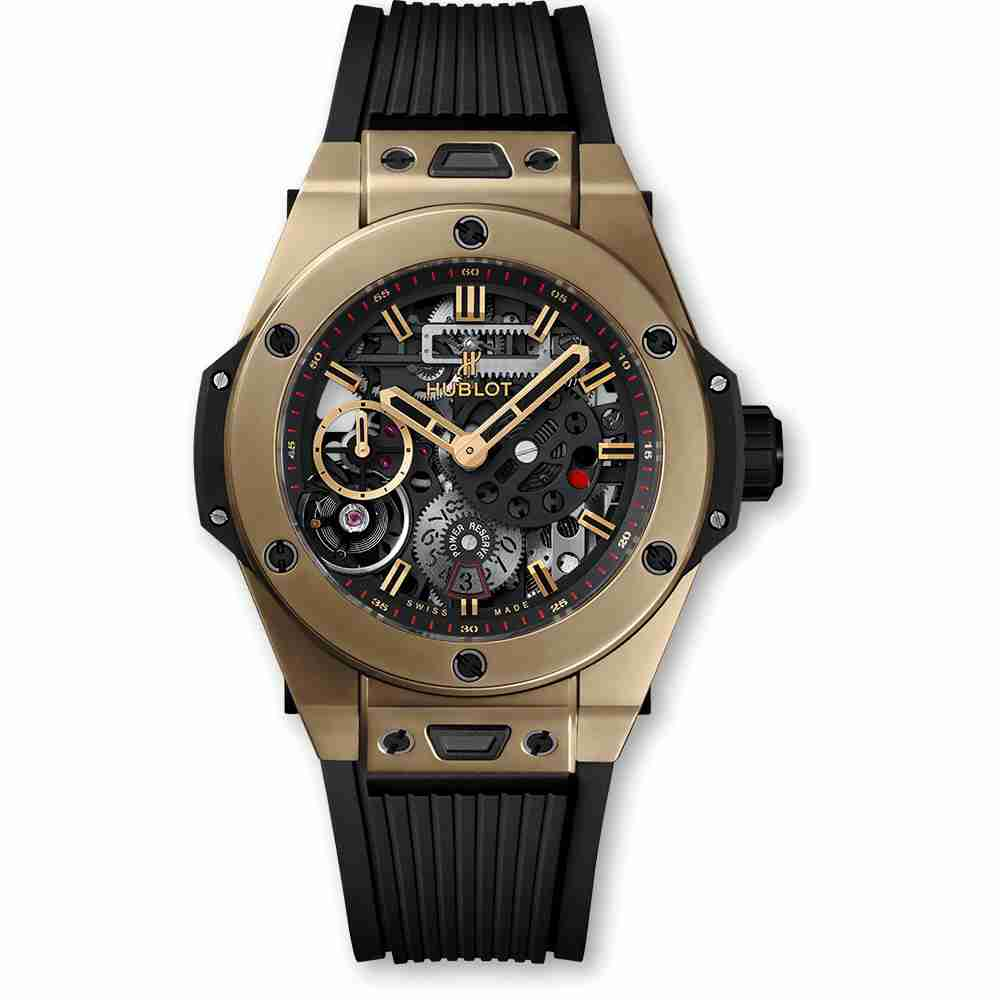 Hublot Big Bang MECA-10 Full Magic Gold 45mm Replica