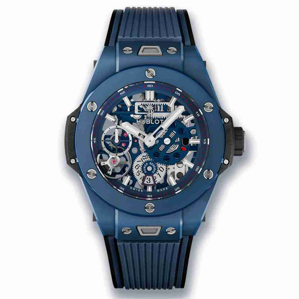 Hublot Big Bang MECA-10 Ceramic Blue 45mm Replica