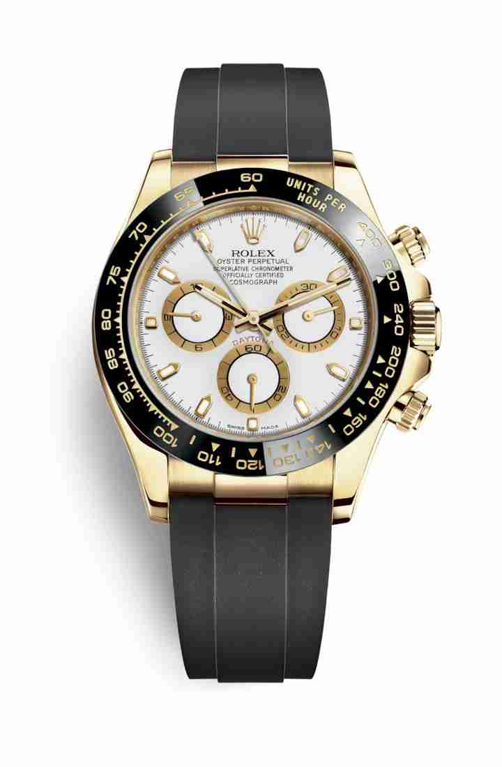Rolex Cosmograph Daytona 116518LN White Dial Watch Replica