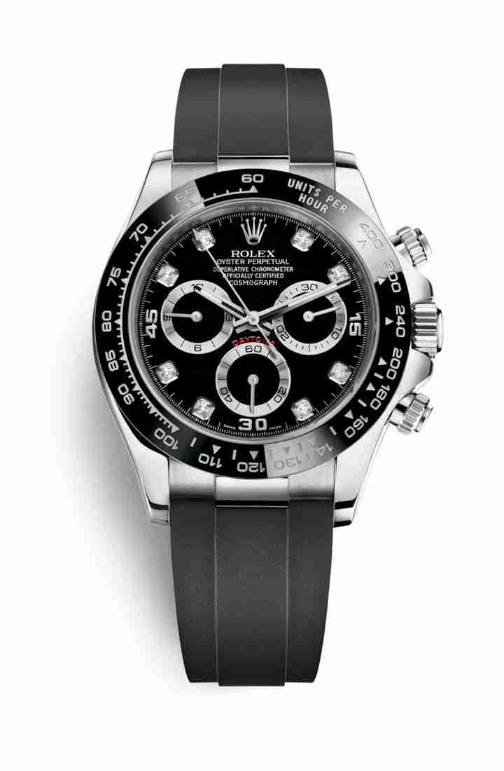 Rolex Cosmograph Daytona 116519LN Black diamonds Watch Replica