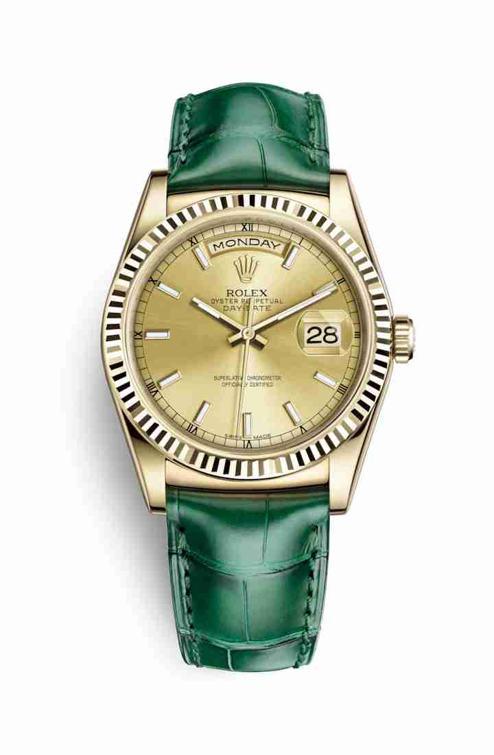 Rolex Day-Date 36 118138 Champagne Dial Watch Replica