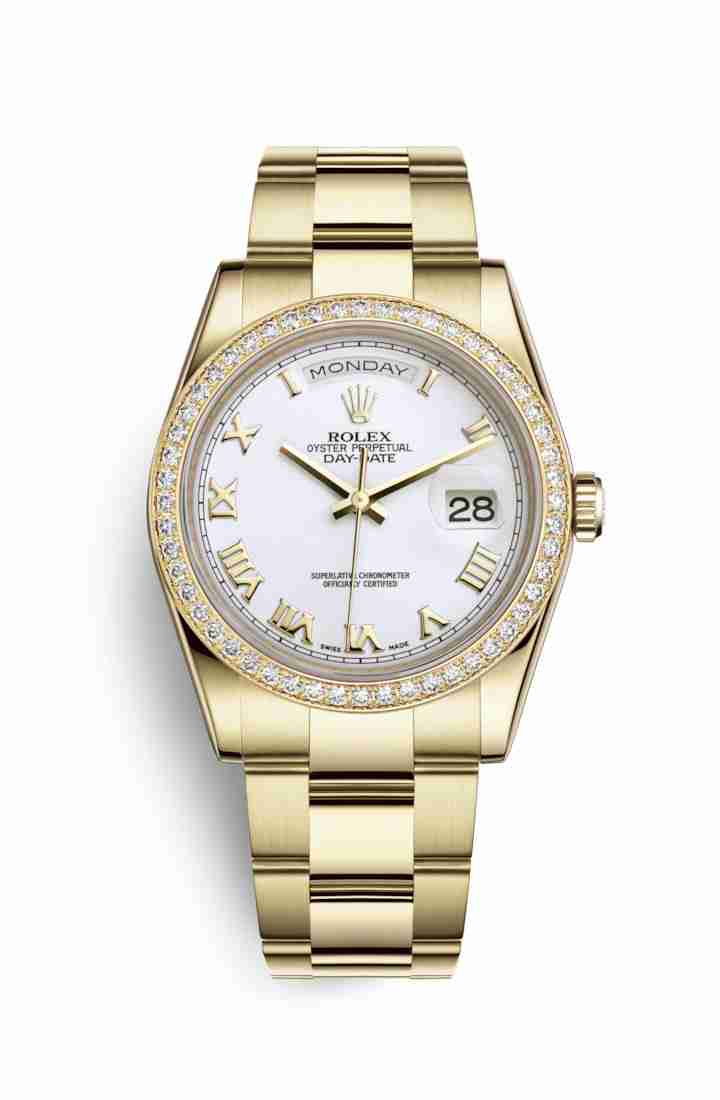 Rolex Day-Date 36 118348 White Dial Watch Replica