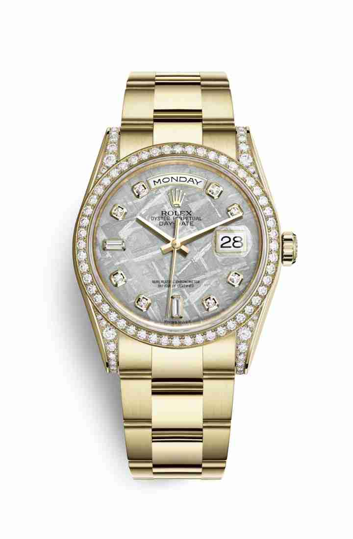 Rolex Day-Date 36 118388 Meteorite diamonds Watch Replica