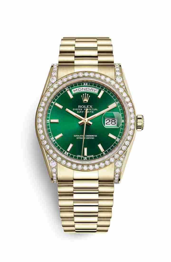 Rolex Day-Date 36 118388 Green Dial Watch Replica