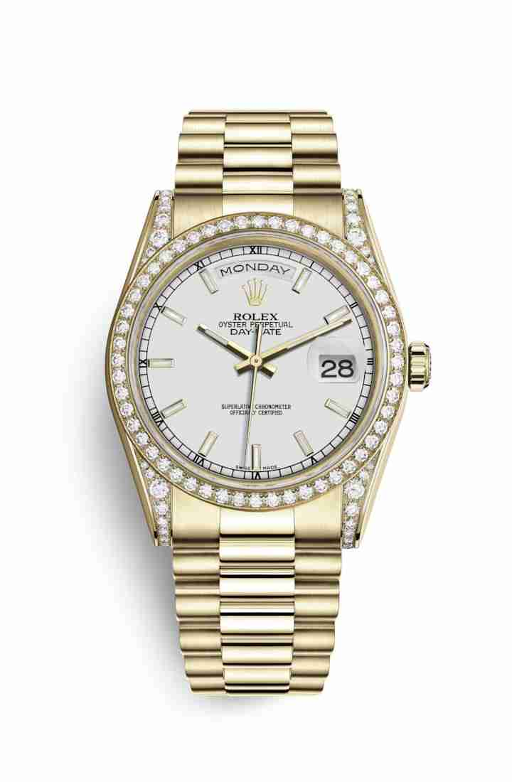Rolex Day-Date 36 118388 White Dial Watch Replica