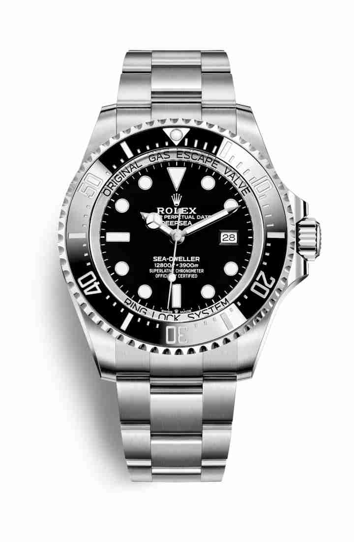 Rolex Deepsea Oystersteel 126660 Black Dial Watch Replica