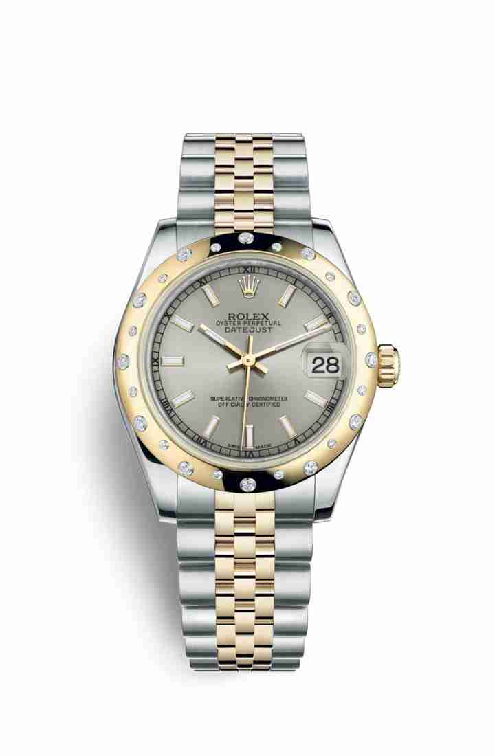 Rolex Datejust 31 Yellow 178343 Silver Dial Watch Replica