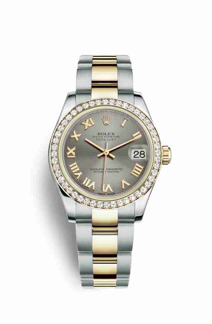 Rolex Datejust 31 Yellow 178383 Steel Dial Watch Replica