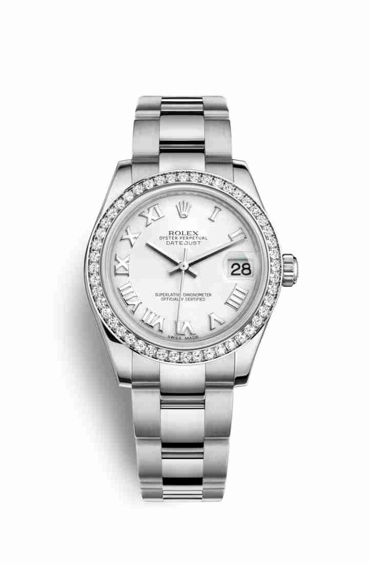 Rolex Datejust 31 White gold 178384 White Dial Watch Replica