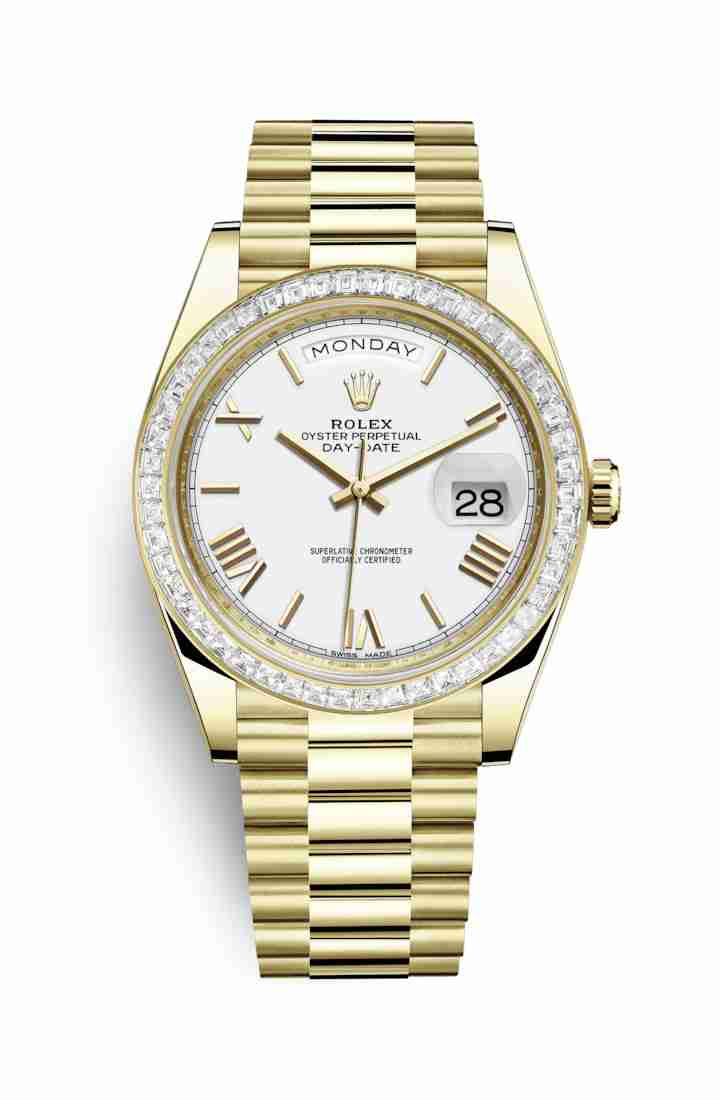 Rolex Day-Date 40 228398TBR White Dial Watch Replica