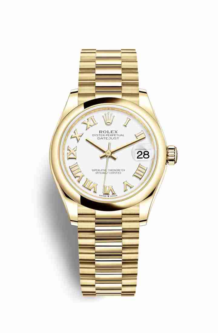 Rolex Datejust 31 278248 White Dial Watch Replica