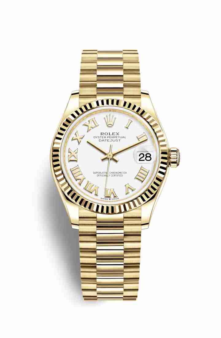 Rolex Datejust 31 278278 White Dial Watch Replica