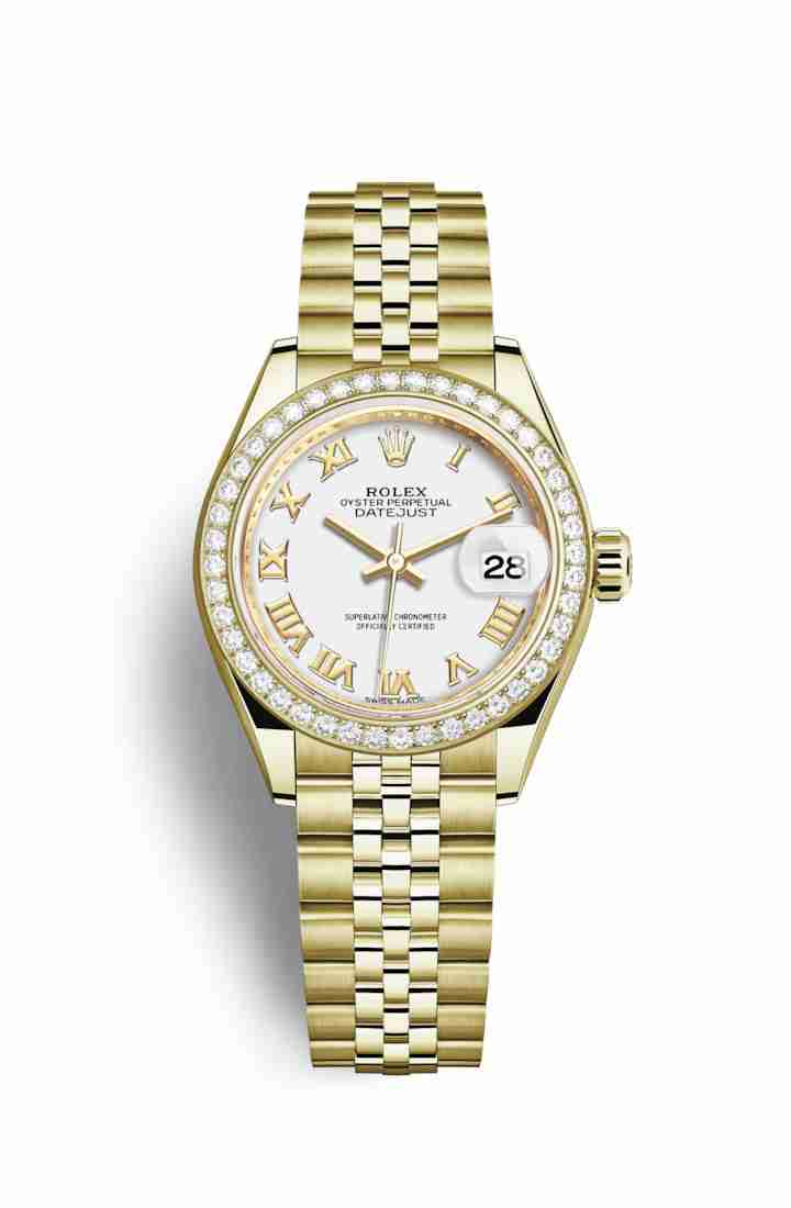Rolex Datejust 28 279138RBR White Dial Watch Replica