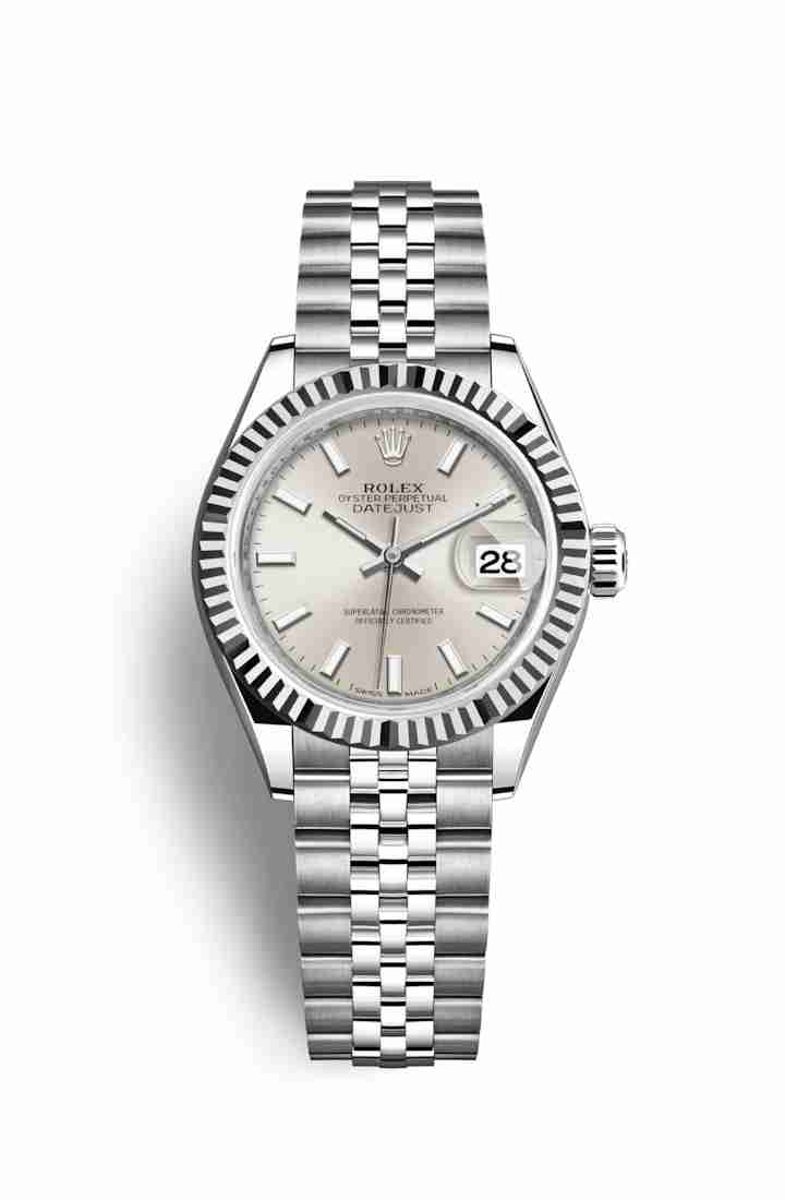 Rolex Datejust 28 White gold 279174 Silver Dial Watch Replica