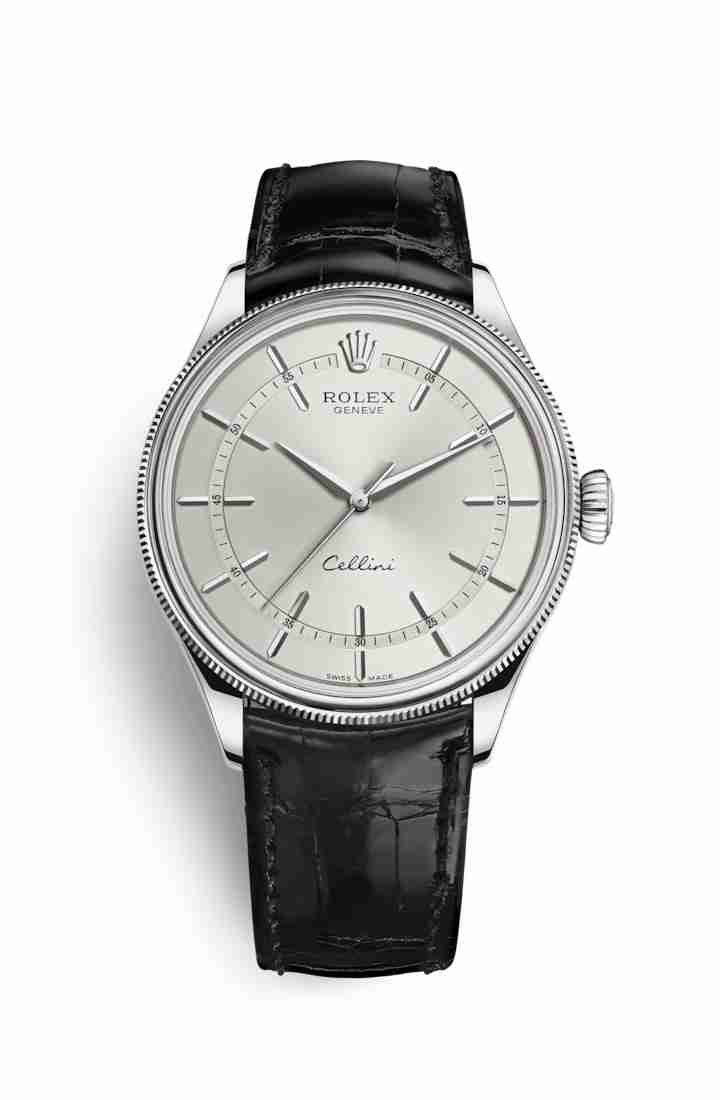 Rolex Cellini Time 50509 Rhodium Dial Watch Replica