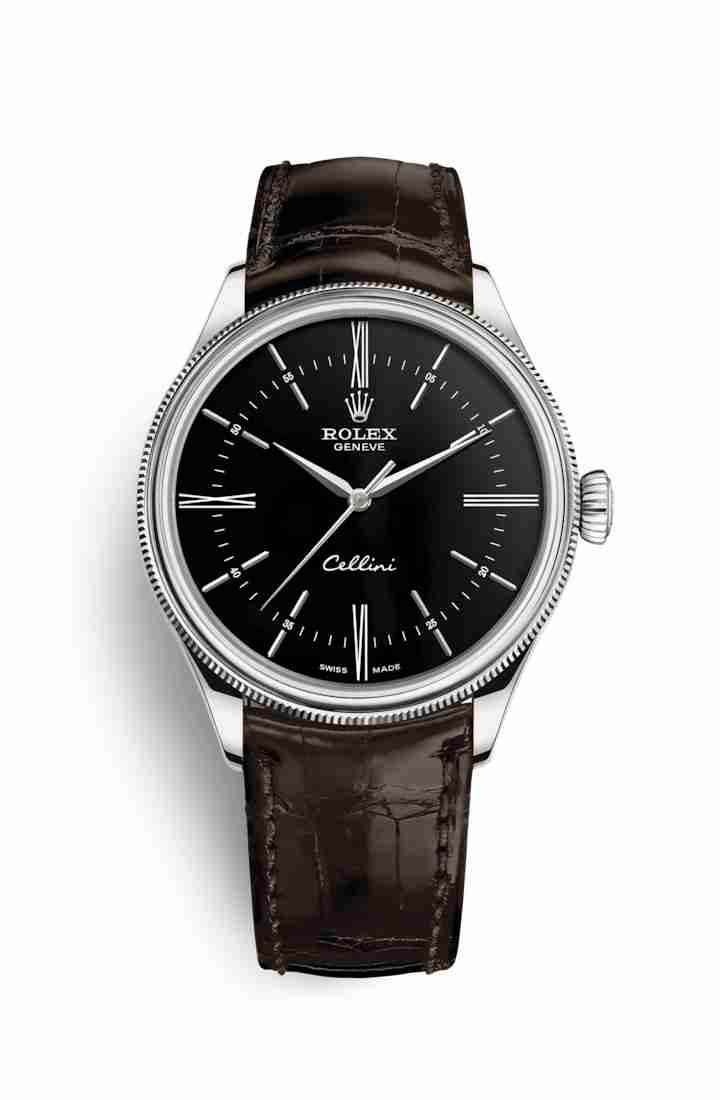 Rolex Cellini Time 50509 Black Dial Watch Replica