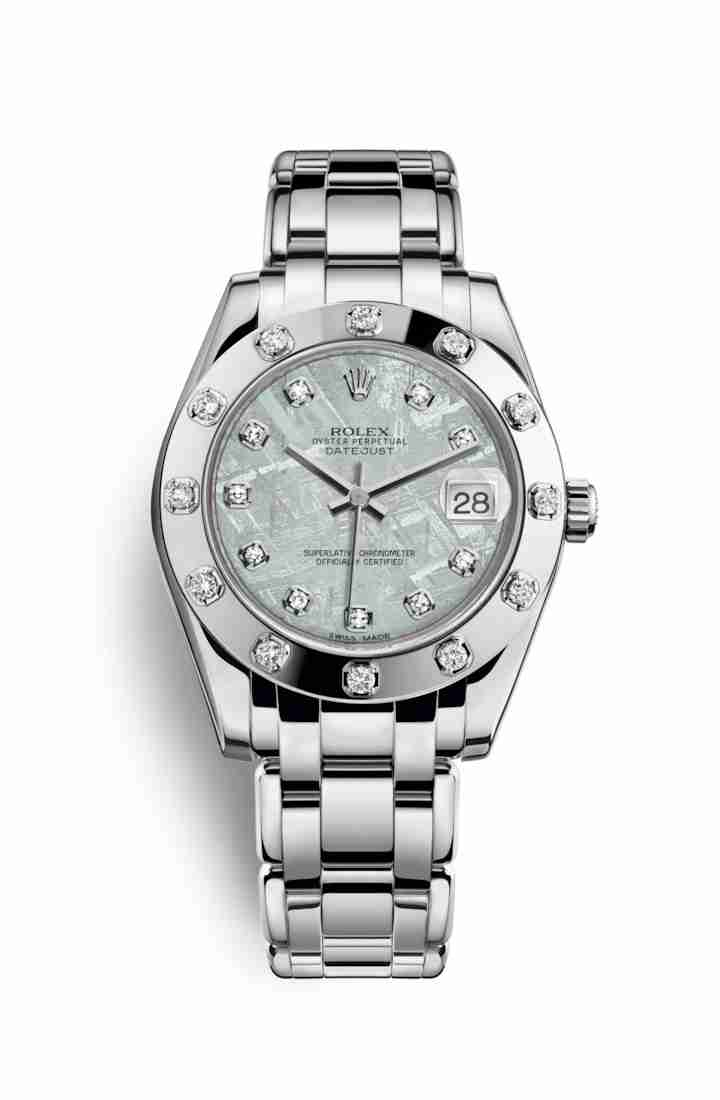 Rolex Pearlmaster 34 81319 Meteorite diamonds Watch Replica