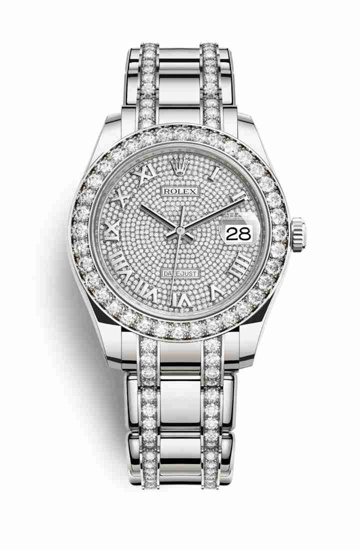 Rolex Pearlmaster 39 86289 Diamond-paved Dial Watch Replica
