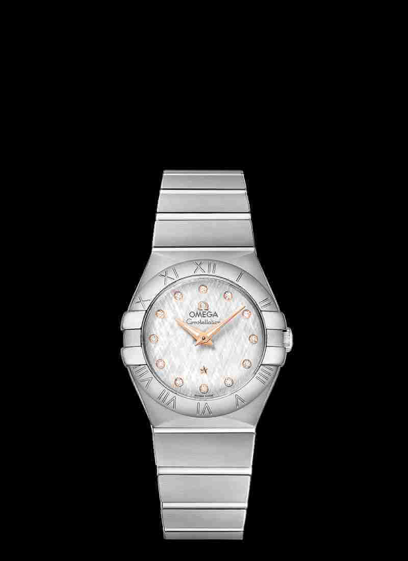 OMEGA Constellation Quartz 27mm 123.10.27.60.52.001