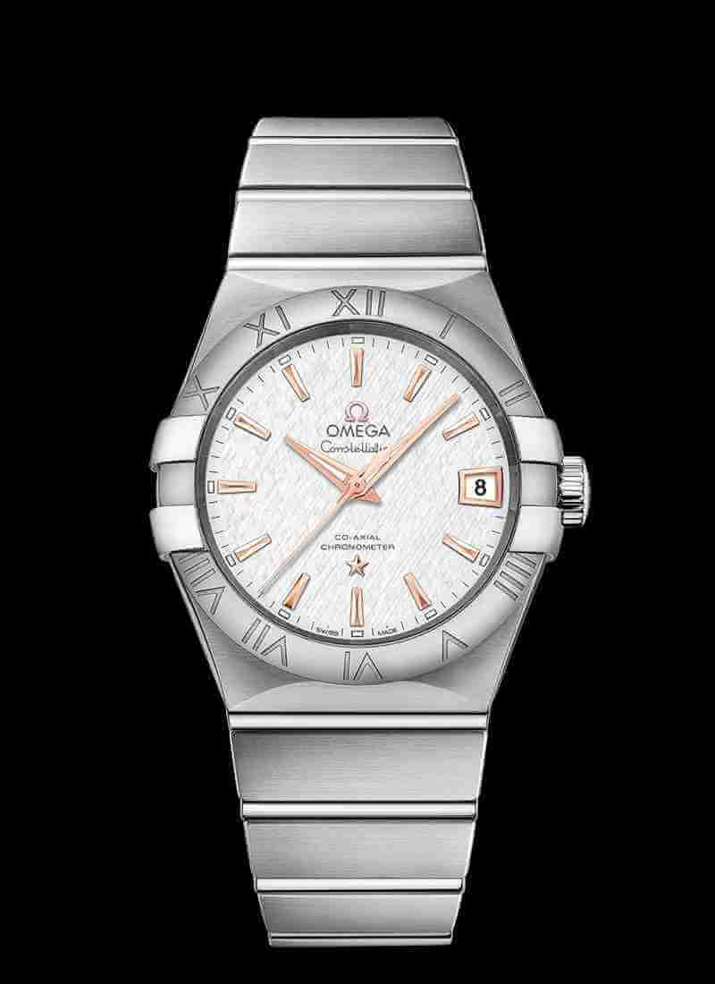 OMEGA Constellation Co-Axial 38mm 123.10.38.21.02.002