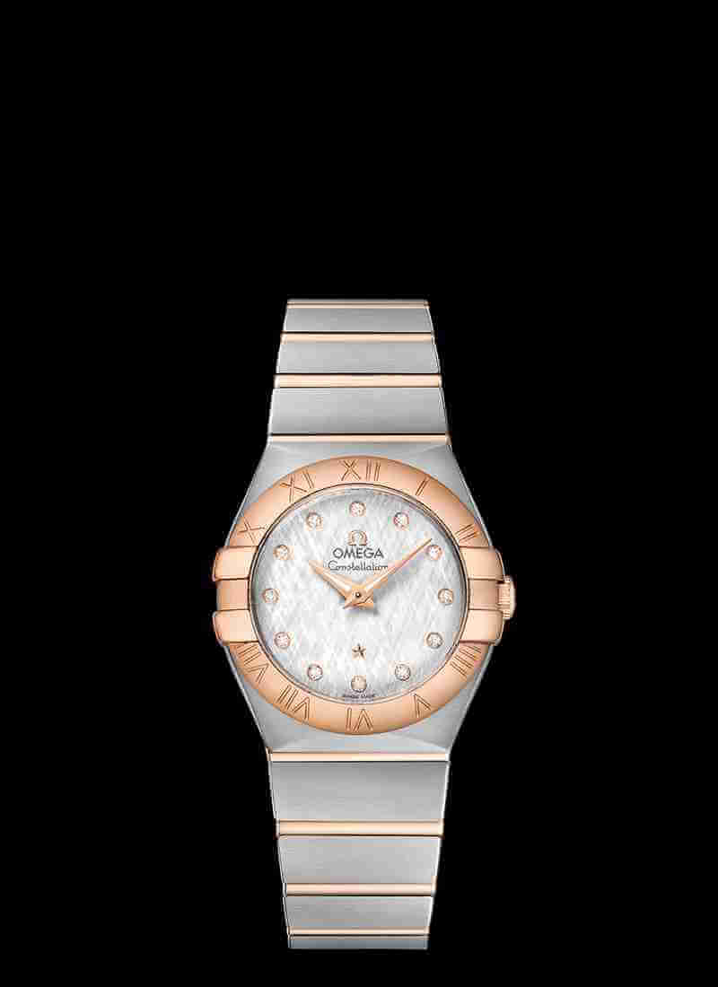 OMEGA Constellation 123.20.27.60.52.002 Quartz 27mm