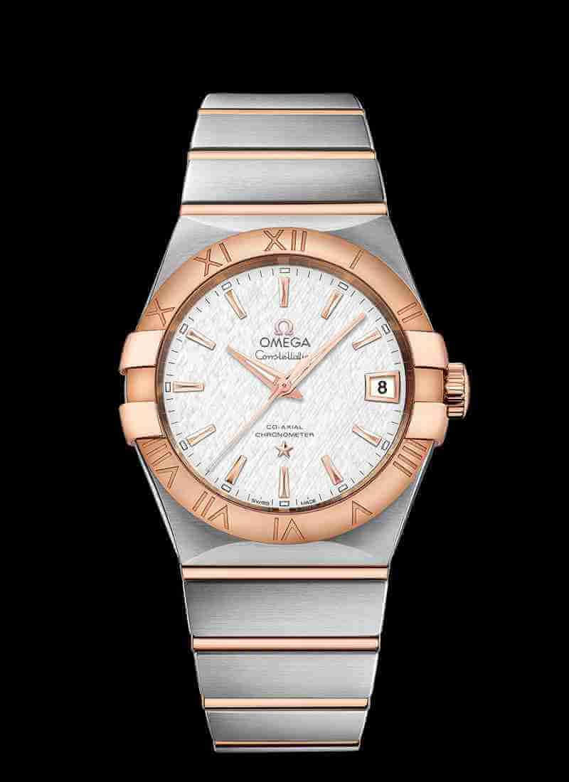 OMEGA Constellation Co-Axial 38mm 123.20.38.21.02.007