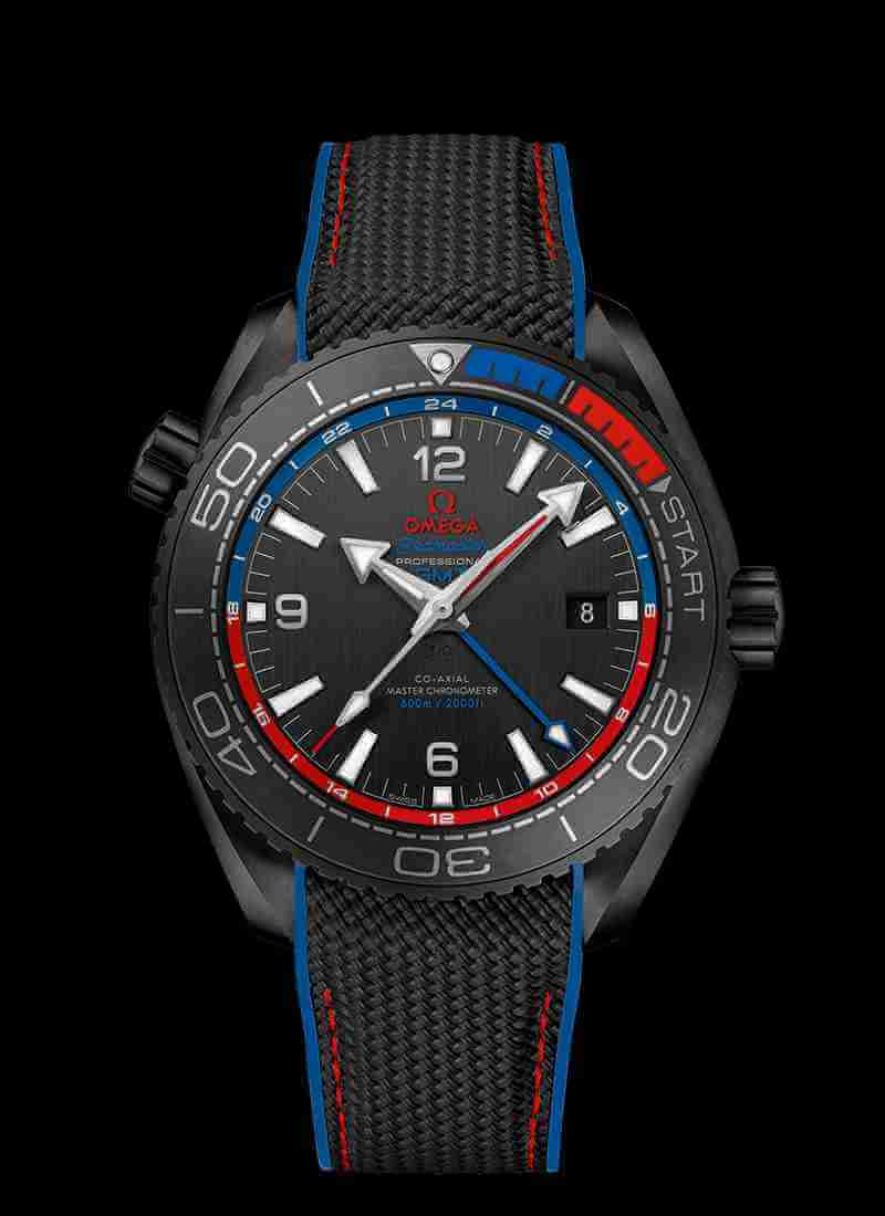 OMEGA Seamaster Planet Ocean 600M Co-axial Master Chronometer GMT 45.5mm 215.92.46.22.01.004